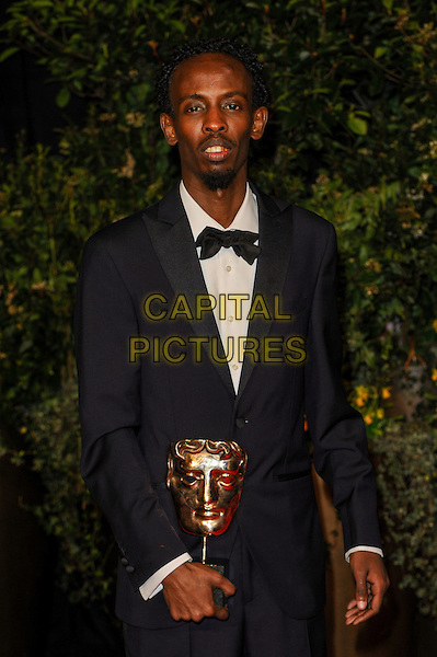 LONDON, ENGLAND - FEBRUARY 16: Barkhad Abdi attends EE British Academy Film Awards afterparty at the Grosvenor Hotel on February 16, 2014 in London, England. <br /> CAP/CJ<br /> &copy;Chris Joseph/Capital Pictures