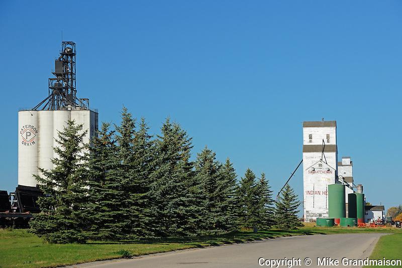 Inland grain terminal and grain elevator<br /> Indian Head<br /> Saskatchewan<br /> Canada