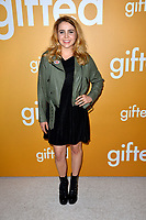Actress Mae Whitman at the premiere for &quot;Gifted&quot; at The Grove. Los Angeles, USA 04 April  2017<br /> Picture: Paul Smith/Featureflash/SilverHub 0208 004 5359 sales@silverhubmedia.com