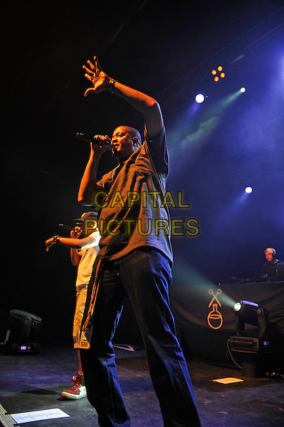 LONDON, ENGLAND - SEPTEMBER 10: Chali 2na (Charles Stewart) of 'Jurassic 5' performing at The Forum on September 10, 2015 in London, England.<br /> CAP/MAR<br /> &copy; Martin Harris/Capital Pictures