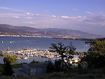 Pleasure craft harbour, Okanagan Lake, Summerland, British Columbia, Canada<br />