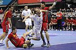 Goran LASICA vs Gregoire DETREZ. Montenegro vs France: 20-32 - Preliminary Round - Group A