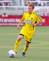 Brian Carroll in the 2-0  Real Salt Lake win at Rice Eccles Stadium  in Salt Lake City, Utah on  July 12, 2008.