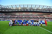 Equipe de France et d Itallie
