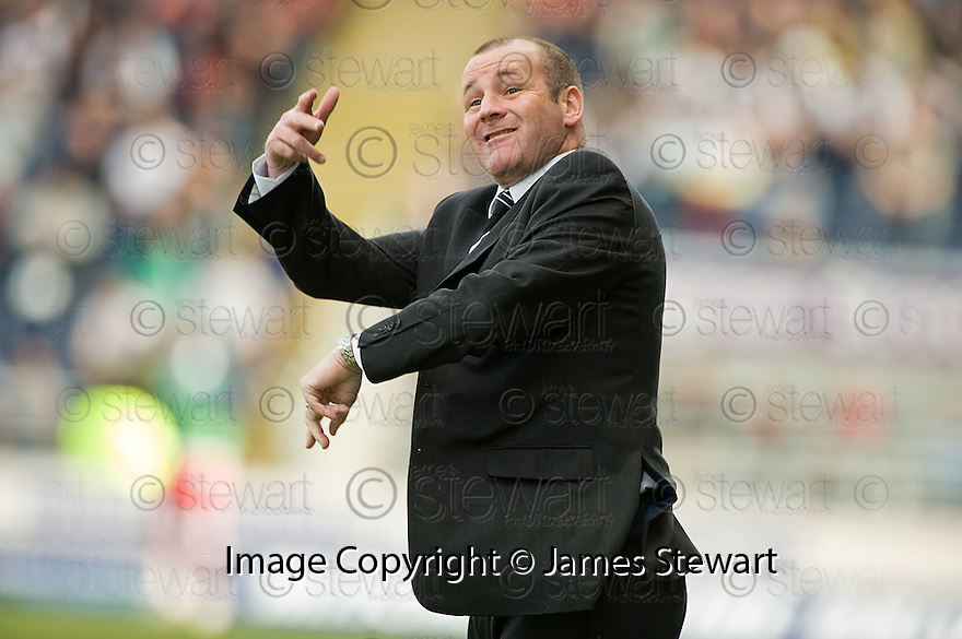 10/04/2010   Copyright  Pic : James Stewart.sct_jsp14_falkirk_v_st_mirren  .::  ST MIRREN MANAGER GUS MACPHERSON ::  .James Stewart Photography 19 Carronlea Drive, Falkirk. FK2 8DN      Vat Reg No. 607 6932 25.Telephone      : +44 (0)1324 570291 .Mobile              : +44 (0)7721 416997.E-mail  :  jim@jspa.co.uk.If you require further information then contact Jim Stewart on any of the numbers above.........