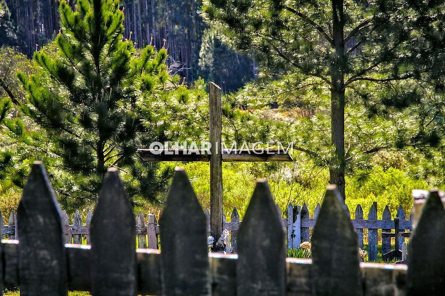 Monumento Guerra do Contestado em Irani. Santa Catarina. 2015. Foto de Andre Arcenio.