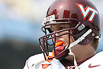 09 September 2006: Virginia Tech's Richard Graham. The University of North Carolina Tarheels lost 35-10 to the Virginia Tech Hokies at Kenan Stadium in Chapel Hill, North Carolina in an Atlantic Coast Conference NCAA Division I College Football game.