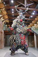 Punta della Dogana.<br /> Damien Hirst: Treasures from the Wreck of the Unbelievable.<br /> The Warrior and the Bear.