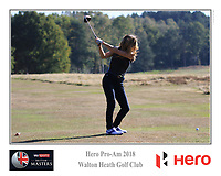 /{prsn}/ during the Hero Pro-Am at the Sky Sports British Masters, Walton Heath Golf Club, Surrey, England. 7-10-2018.<br /> Picture Phil Inglis / Golffile.ie<br /> <br /> All photo usage must carry mandatory copyright credit (&copy; Golffile | Phil Inglis)