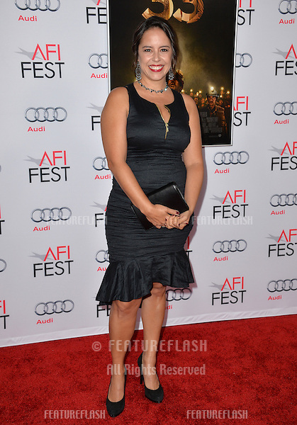 Director Patricia Riggen at the premiere of her movie &quot;The 33&quot;, part of the AFI FEST 2015, at the TCL Chinese Theatre, Hollywood. <br /> November 9, 2015  Los Angeles, CA<br /> Picture: Paul Smith / Featureflash