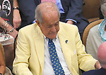 Scenes from the National Museum of Racing Hall of Fame ceremony (Cot Campbell) on August 03, 2018 at the Fasig-Tipton Sales Pavilion in Saratoga Springs, New York. (Bob Mayberger/Eclipse Sportswire)