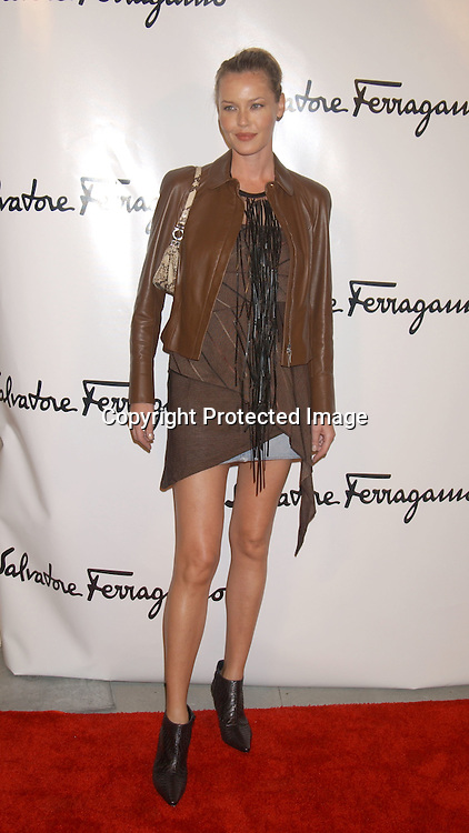 Connie Nielsen                               ..at the Salvatore Ferragamo NYC Flagship Store opening on ..September 12, 2003 . The Event benefitted Free Arts NYC.  Photo by Robin Platzer, Twin Images.