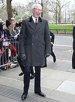 Paul O'Grady arriving for the TRIC Awards 2014, at Grosvenor House Hotel, London. 11/03/2014 Picture by: Alexandra Glen / Featureflash