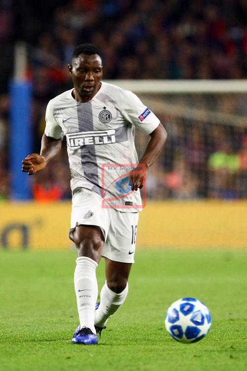 UEFA Champions League 2018/2019 - Matchday 3.<br /> FC Barcelona vs FC Internazionale Milano: 2-0.<br /> Kwadwo Asamoah.