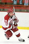 Michael Biega (Harvard - 27) - The visiting Quinnipiac University Bobcats defeated the Harvard University Crimson 3-1 on Wednesday, December 8, 2010, at Bright Hockey Center in Cambridge, Massachusetts.