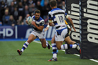 Micky Young of Bath Rugby mops up behind his own tryline during the Amlin Challenge Cup Final match between Bath Rugby and Northampton Saints at Cardiff Arms Park on Friday 23rd May 2014 (Photo by Rob Munro)