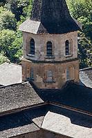 Europe/France/Midi-Pyrénées/12/Aveyron/Conques: L'abbatiale Sainte-Foy
