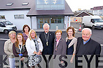 Breda Doyle, Kathleen Jordan, Siobhan Dowling, Donna Roche, Bishop Ray Browne (Bishop of Kerry) Sr Anita Burke Juliette O'Connor and Canon Linnane pictured at the opening of the Bon Secours Hospital extension on Thursday.