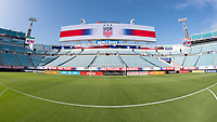 Jacksonville, FL - Thursday, April 05, 2018: EverBank Stadium during a friendly match between USA and Mexico at EverBank Stadium.  USA defeated Mexico 4-1.