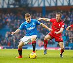 4.3.2018: Rangers v Falkirk Scottish Cup QF<br /> Greg Docherty and Louis Longridge