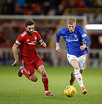 06.02.2019 Aberdeen v Rangers: Graeme Shinnie and Ross McCrorie
