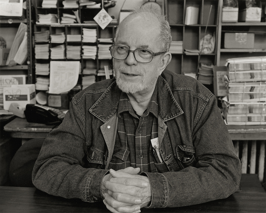 David McReynolds, 2008.  Long time war resister, Socialist candidate for President..