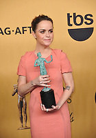 Taryn Manning at the 2015 Screen Actors Guild  Awards at the Shrine Auditorium.<br /> January 25, 2015  Los Angeles, CA<br /> Picture: Paul Smith / Featureflash