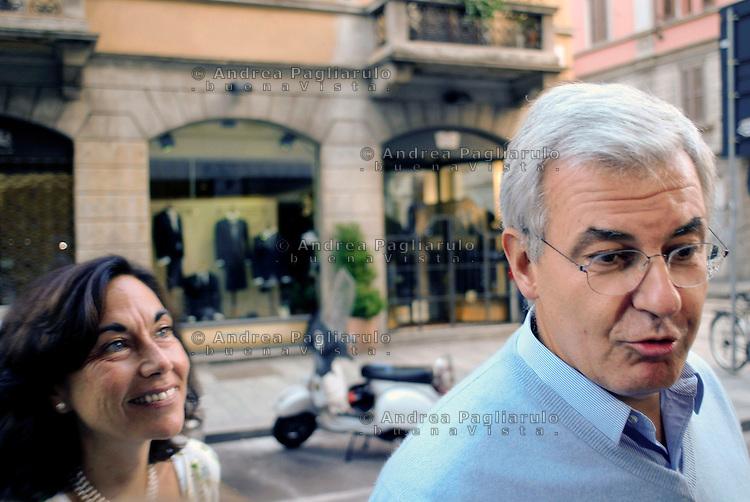 Alessandro Profumo e  Sabina Ratti..© Andrea Pagliarulo