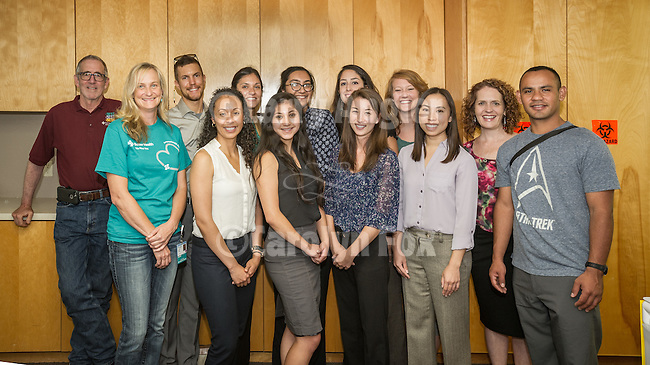 Sutter Amador Health Foundation, Plymouth Clinic. Dr. Dan Fields and Colleen Riordan host the UC Davis Rural Prime Program 1st year med students led by program director Suzanne Eidson-Ton. <br /> <br /> This group of students from throughout both rural and urban areas are on tour to learn about this important medical outreach program helping Californians away from main-stream urban medicine.