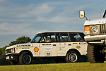 Record breaking Range Rover Turbo Diesel. Dunsfold Collection Open Day 2009. NO RELEASES AVAILABLE.