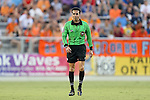 12 June 2013: Referee Alejandro Mariscal. The North American Soccer League's Carolina RailHawks hosted Major League Soccer's CD Chivas USA at WakeMed Stadium in Cary, NC in a 2013 Lamar Hunt U.S. Open Cup fourth round game. Carolina won the game 3-1 after extra time.
