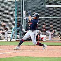 Hosea Nelson - Cleveland Indians 2020 spring training (Bill Mitchell)
