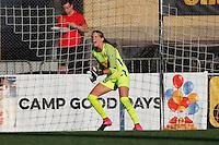 Rochester, NY - Friday June 17, 2016: Western New York Flash goalkeeper Britt Eckerstrom (28) after a regular season National Women's Soccer League (NWSL) match between the Western New York Flash and the Portland Thorns FC at Rochester Rhinos Stadium.