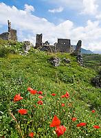 Italy, Calabria, Cirella: Cirella Vécchia (castle ruin)