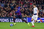 UEFA Champions League 2018/2019 - Matchday 6.<br /> FC Barcelona vs Tottenham Hotspur FC: 1-1.<br /> Dembele vs Winks.