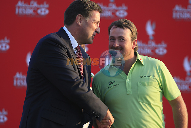 Graeme McDowell joint 3rd place at the end of the Final Day Sunday of the Abu Dhabi HSBC Golf Championship, 23rd January 2011..(Picture Eoin Clarke/www.golffile.ie)