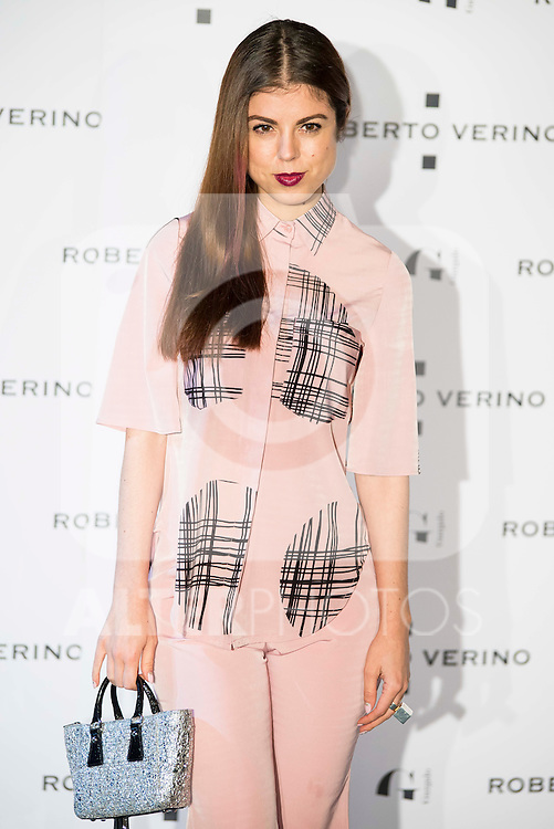 "Alba Messa during the presentation of the new Spring-Summer collection ""Un Balcon al Mar"" of Roberto Verino at Platea in Madrid. March 16, 2016. (ALTERPHOTOS/Borja B.Hojas)"