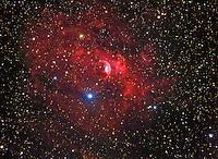 bubble nebula ngc 7635