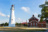 64795-01706 Fort Gratiot Lighthouse along Lake Huron, Port Huron, MI