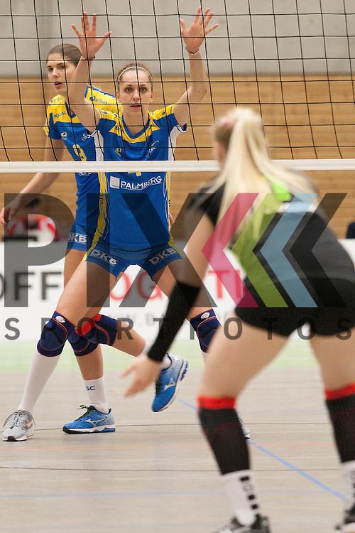 Schwerins Veronika Hroncekova <br /> <br /> 05.12.2015 Volleyball Frauen 1. Bundesliga Koepenicker SC Berlin  - Schweriner SC <br /> <br /> Foto &copy; PIX-Sportfotos *** Foto ist honorarpflichtig! *** Auf Anfrage in hoeherer Qualitaet/Aufloesung. Belegexemplar erbeten. Veroeffentlichung ausschliesslich fuer journalistisch-publizistische Zwecke. For editorial use only.