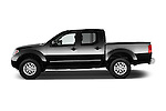 Car Driver side profile view of a 2016 Nissan Frontier SV 4 Door Pick-up Side View