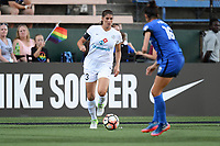 Seattle, WA - Friday June 23, 2017: Brittany Taylor a regular season National Women's Soccer League  (NWSL) match between the Seattle Reign FC and FC Kansas City at Memorial Stadium.