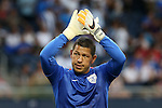 13 July 2015: Nick Rimando (USA). The United States Men's National Team played the Panama Men's National Team at Sporting Park in Kansas City, Kansas in a 2015 CONCACAF Gold Cup Group A match.