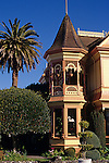 "Victorian Mansions ""Gingerbread House"" Ferndale California USA."