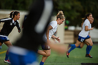 Seattle, WA - Sunday, September 11 2016: Seattle Reign FC midfielder Kim Little (8) warms up prior to a regular season National Women's Soccer League (NWSL) match between the Seattle Reign FC and the Washington Spirit at Memorial Stadium. Seattle  won 2-0.