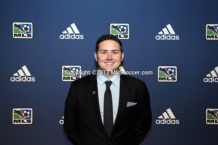 January 17th, 2013: Chicago Fire Communications Manager Brendan Hannan. The 2013 MLS SuperDraft was held during the NSCAA Annual Convention held in Indianapolis, Indiana.