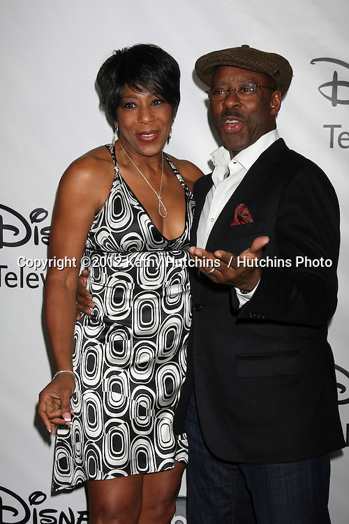 LOS ANGELES - JAN 10:  Dawnn Lewis, Courtney B Vance arrives at the ABC TCA Party Winter 2012 at Langham Huntington Hotel on January 10, 2012 in Pasadena, CA