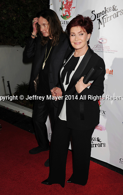 BEVERLY HILLS, CA- SEPTEMBER 13: TV personalities Ozzy Osbourne and Sharon Osbourne attend the Brent Shapiro Foundation for Alcohol and Drug Awareness' annual 'Summer Spectacular Under The Stars' at a private residence on September 13, 2014 in Beverly Hills, California.