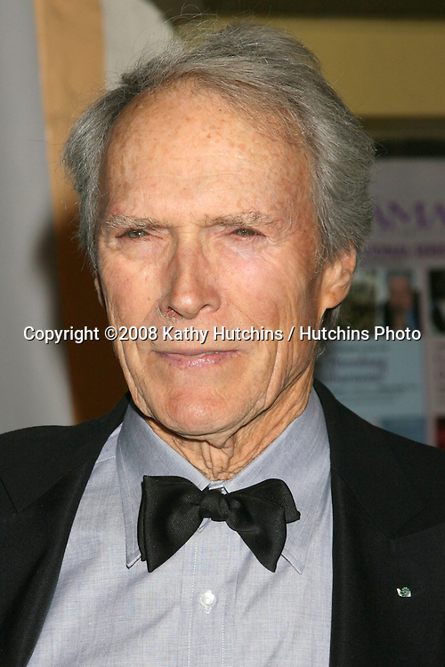 Clint Eastwood .Performance of the Year Award to Angelina Jolie.Santa Barbara International Film Festival.Santa Barbara, CA.February 2, 2008.©2008 Kathy Hutchins / Hutchins Photo....