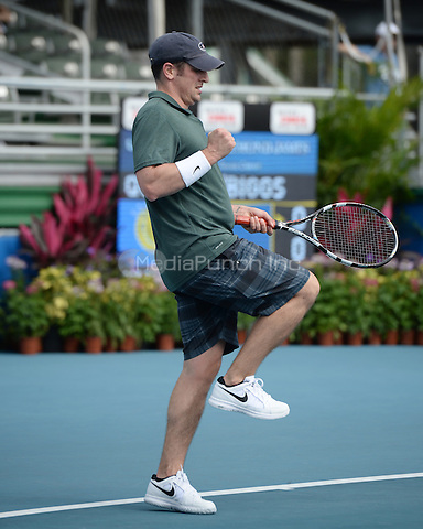 DELRAY BEACH, FL - NOVEMBER 21: Jason Biggs participates in The 26th Annual Chris Evert/Raymond James Pro-Celebrity Tennis Classic at Delray Beach Tennis Center on November 21, 2015 in Delray beach, Florida. Credit: mpi04/MediaPunch